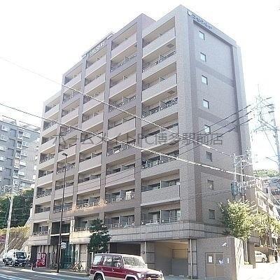 桜坂駅目の前分譲マンション。ペット飼育可能。