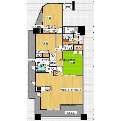 子育て環境、住環境良好な桜坂エリアの分譲賃貸マンション。