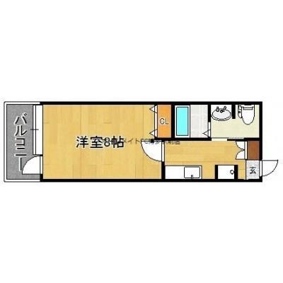 箱崎駅徒歩2分。家具家電プラン有り。各種条件ご相談下さい。