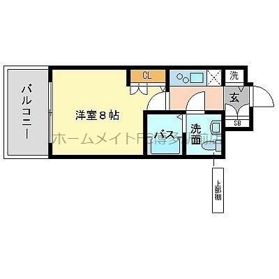 箱崎駅目前で利便性良し。九大の方におススメです。