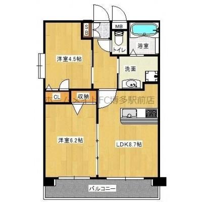 設備充実の分譲賃貸、築浅物件です。